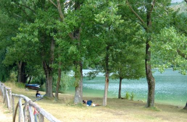 Scanno lago parco