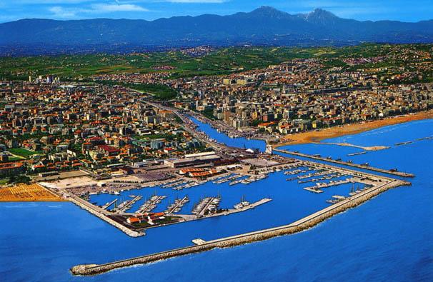 Stranden Pescara Nl